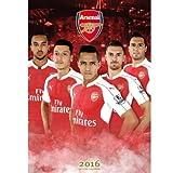 Arsenal アーセナル オフィシャル 2016 壁掛け カレンダー