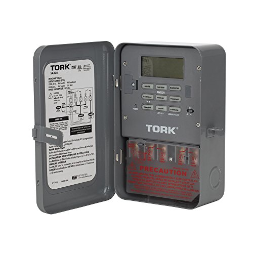 TORK SA306 40 Amp 120-Volt Double-Pole Zip Set Industrial Timer (120v Pool Heater compare prices)