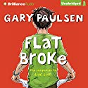 Flat Broke: The Theory, Practice and Destructive Properties of Greed Audiobook by Gary Paulsen Narrated by Joshua Swanson