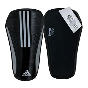 adidas Pro Lite Shin Guard (Black, Metallic Silver, Size X-Large)