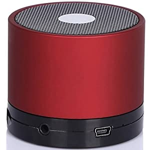 Supcase EWA Mini Lightweight Portable Premium Sound Wireless Bluetooth Speaker with Rechargeable Battery - Cola Red, Enhanced Bass, S