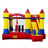 Yard Bounce House Inflatable Bouncer Combo Slide with Blower