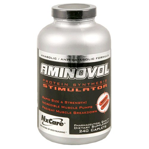NxLabs Aminovol Protein Synthesis Stimulator, 240 Caplets