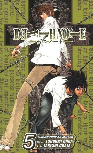 DEATH NOTE 5巻 (英語版)
