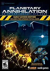 Planetary Annihilation - Early Access Edition (Mac/PC DVD)
