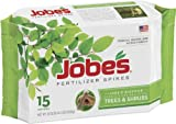 Jobes 1610 Tree Outdoor Fertilizer Food Spikes, 15 Pack