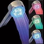 Pommeau de douche lumineux � LED 3 co...