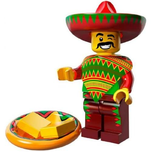 The Lego Movie Taco Tuesday Guy Minifigure Series 71004