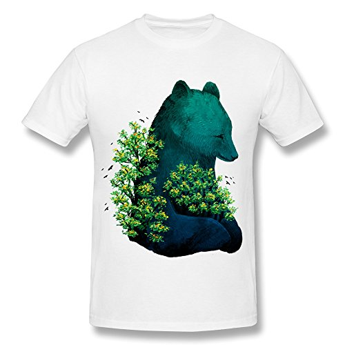 Fashion Embrace Nature Custom Tshirt For Men front-15428