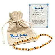 Raw Baltic Amber Teething Necklaces F…