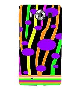 PrintVisa Modern Art Tree Pattern 3D Hard Polycarbonate Designer Back Case Cover for Nokia Lumia 950