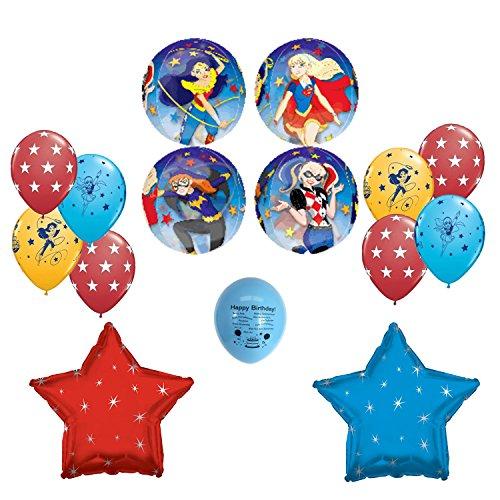 Dc-Super-Hero-Girls-Birthday-Party-Balloon-Decoration-Kit