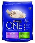 Purina ONE Sensitive Rich in Turkey a...