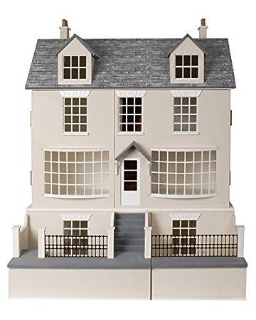 Maison De Poupées Géorgien Shop Pub & Sous-sol 1:12 échelle Paquet Plat MDF Bois Kit