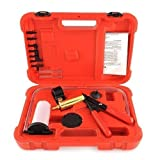 Amzdeal Brake Bleeder Vacuum Pump Gauge Test Tuner Kit Tools...
