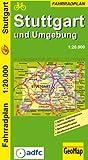 GeoMap Radwegepläne, Stuttgart und Umgebung