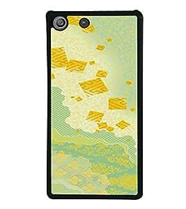 PrintVisa SONM5-Colorful Pattern Metal Back Cover for Sony Xperia M5 Dual E5633 E5643 E5663, Sony Xperia M5 E5603 E5606 E5653