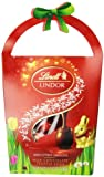 Lindt LINDOR Novelty Mini Eggs Milk Chocolate Basket, 3.5-Ounce