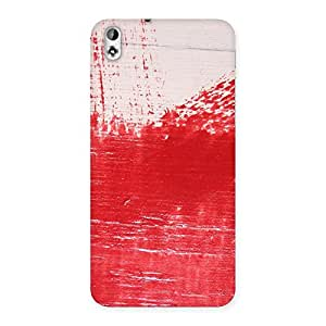 Stylish Red Fresh Texture Back Case Cover for HTC Desire 816g