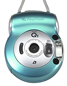 Fuji Nexia Q1 Compact APS Camera (Light Blue)