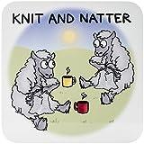 Dublin Gift Knit & Natter Coaster