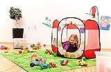 Ba�o de bolas DE COLORES incluye 100 BOLILLAS Piscina de bolas Babyzelt Tienda de juegos Casa de juegos