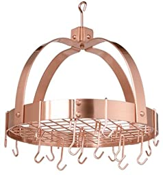 Old Dutch Dome Pot Rack, Copper