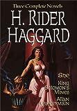 Image of H. Rider Haggard: She, King Solomon's Mine & Allan Quartermain (Gramercy Adventure Library)