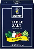 Morton Table Salt, 4-Pound (Pack of 9)
