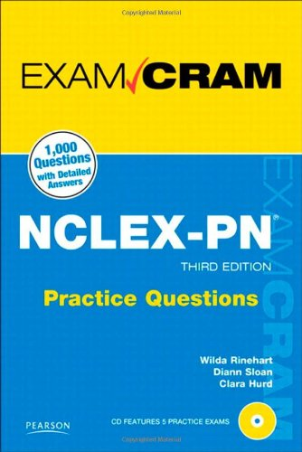 Nclex-Pn Practice Questions Exam Cram (3Rd Edition)