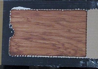 Traffic Master InterLock Old Hickory Nutmeg Resilient Vinyl Flooring 184368