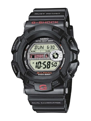 Casio G-Shock G-9100-1ER Mens Digital Resin Strap watch