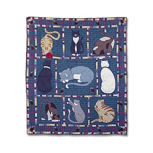 Cat Fleece Throw
