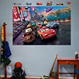 Amazing Disney/Pixar Cars 2 Parade Mural Wall Decals by Fathead