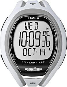 Timex Men's Ironman Sleek 150-Lap with TapScreen Technology T5K505AW