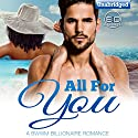 All for You: A BWWM Billionaire Romance Audiobook by Emilia Domino Narrated by Melissa Sternenberg