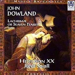 Dowland : Lachrimae or Seaven Teares, 1604