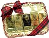 Aloha Island Coffee All Occasion Kona Blend Coffee Sampler Gift, Ground Coffee, Brews 60 Cups, 10-ounces