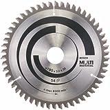Bosch Kreissägeblatt 190 mm, 54 Zähne, Multi Material