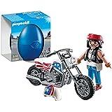 Playmobil 5280 - Jeu de construction - Biker avec chopper ( moto )