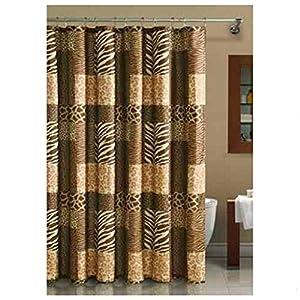 Amazon Com Light Brown Jungle Safari Animal Print Fabric