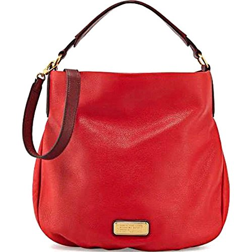 Marc-By-Marc-Jacobs-New-Q-Hillier-Hobo-Womens-Red-Leather-Hobo-Size