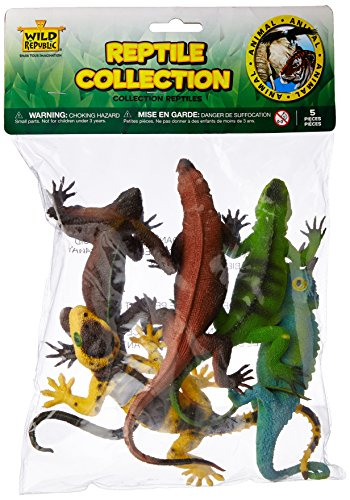 Wild Republic Polybag Reptile 5 Pieces