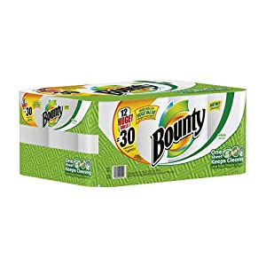 Bounty Huge Roll [Amazon Frustration-Free Packaging] - 12 Rolls $25.22