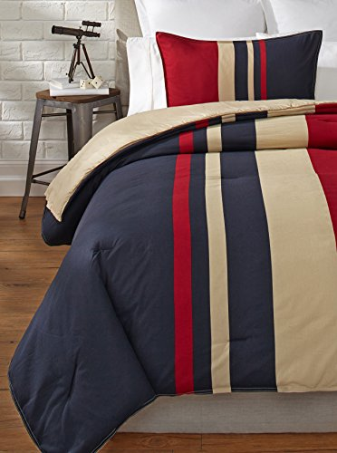 Nautica Everson Comforter Set, King back-1008426