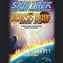 Star Trek, The Next Generation: The Genesis Wave, Book 1 (Adapted) Audiobook by John Vornholt Narrated by Tim Russ