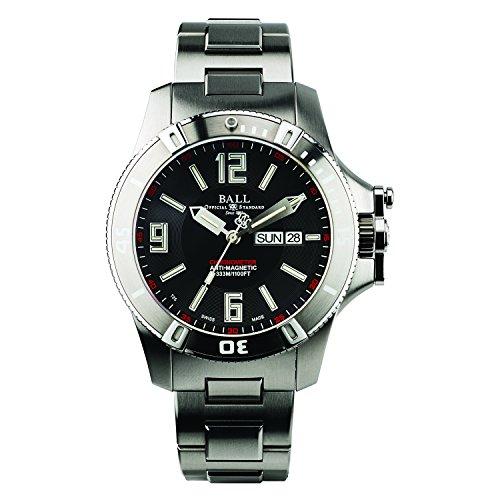 [ボールウォッチ]BALL Watch 腕時計 スペースマスター ブラック文字盤 333m防水 DM2036A-SCAJ-BK メンズ 【並行輸入品】