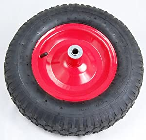 "5/8"" x 16"" Wheel Barrow Tire from Pit Bull"