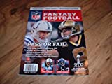 NFL.Com Fantasy Football 2010 Preview. Drew Brees & Peyton Manning on cover.
