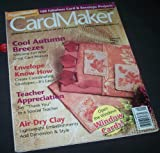 img - for Card Maker (September 2005, Volume 1, No. 3) book / textbook / text book